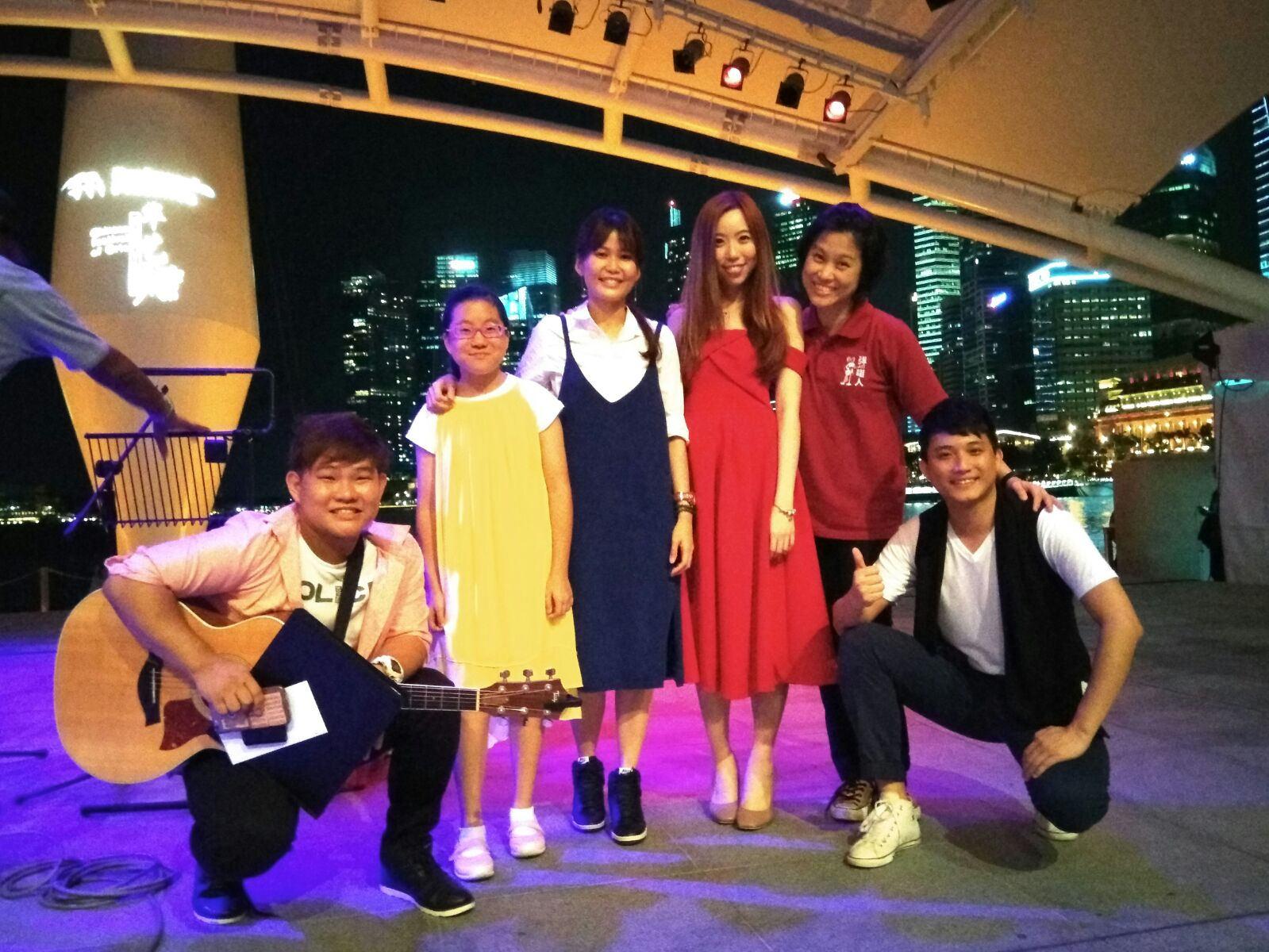 Young Voices of Xin Yao @ Esplanade Outdoor Theatre 2017.JPG